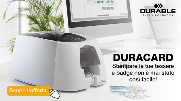 Durable Duracard (clicca e guarda il video!)