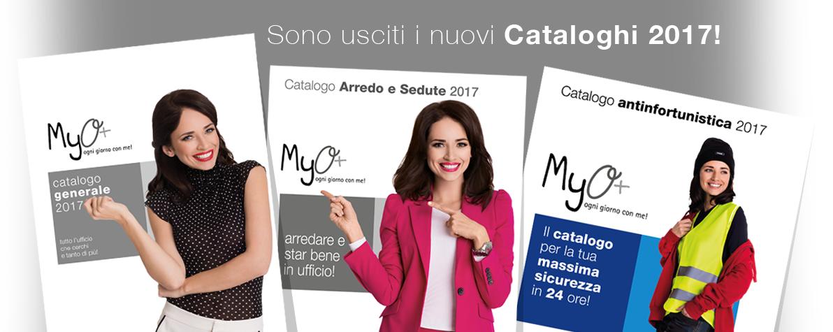 Nuovi Cataloghi MyO 2017!!!