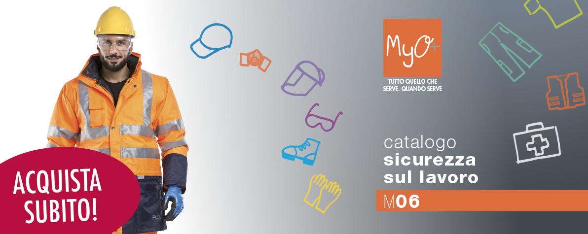 Catalogo MyO Sicurezza sul Lavoro 2018!