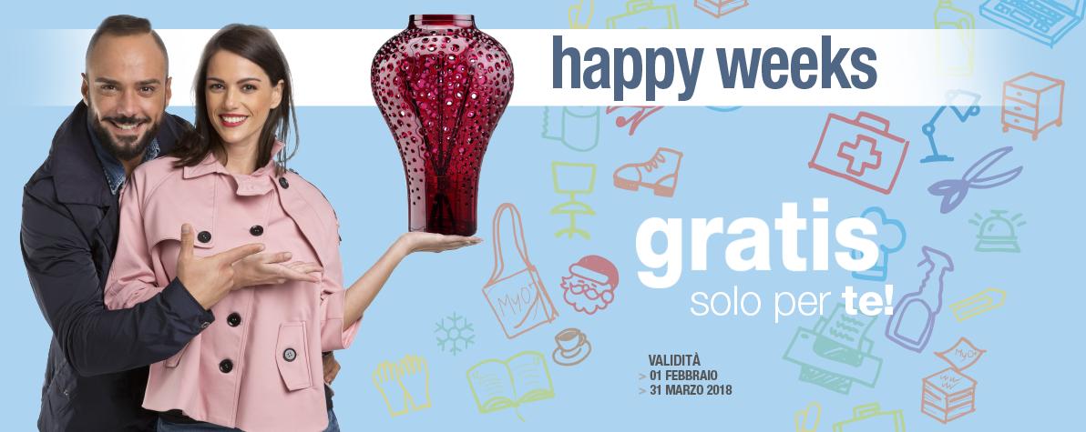 Happy Weeks Febbraio Marzo 2018