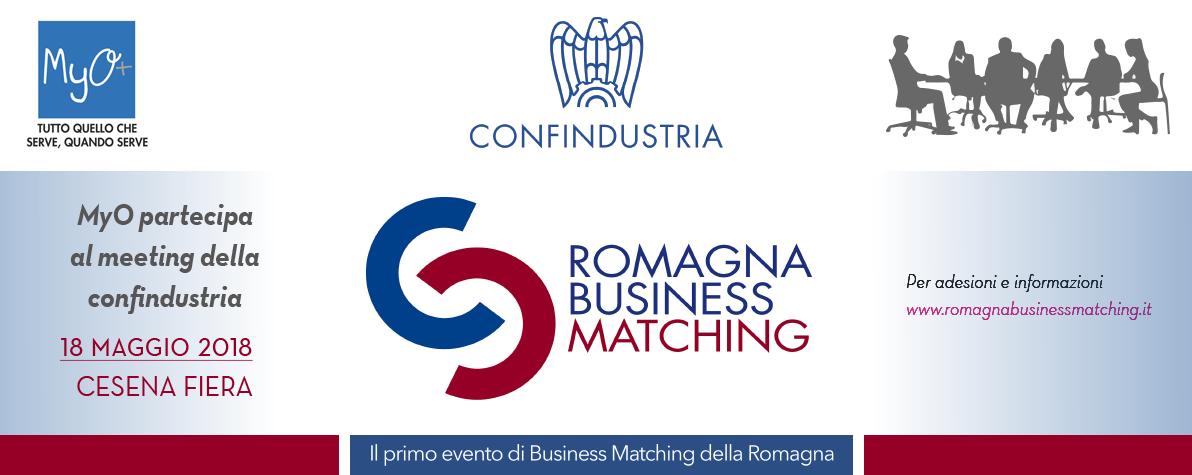 MyO partecipa al Meeting della Confindustria - 18 maggio 2018 - Cesena Fiera