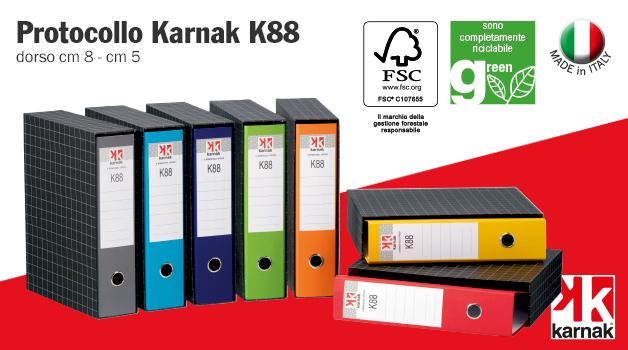 Karnak K88 protocollo