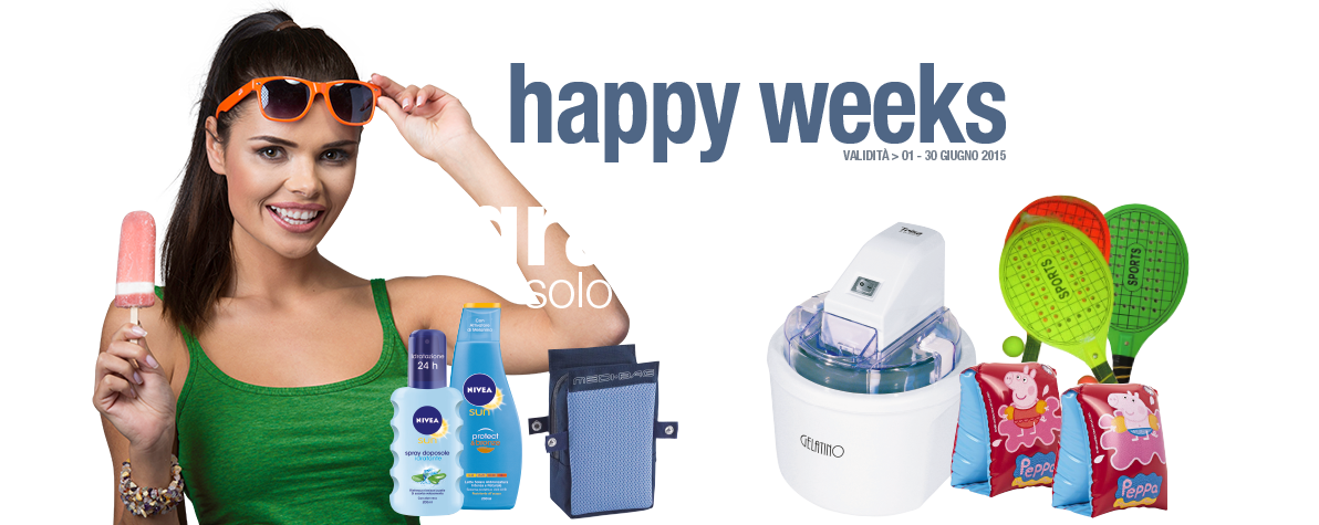 Happy Weeks Giugno