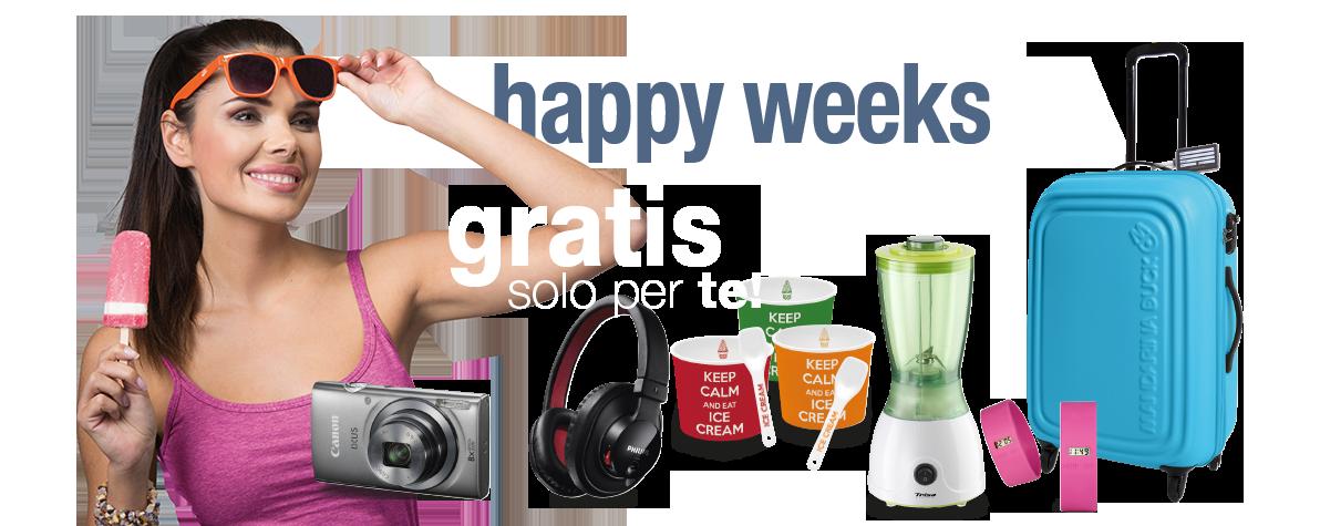 Happy Weeks Luglio