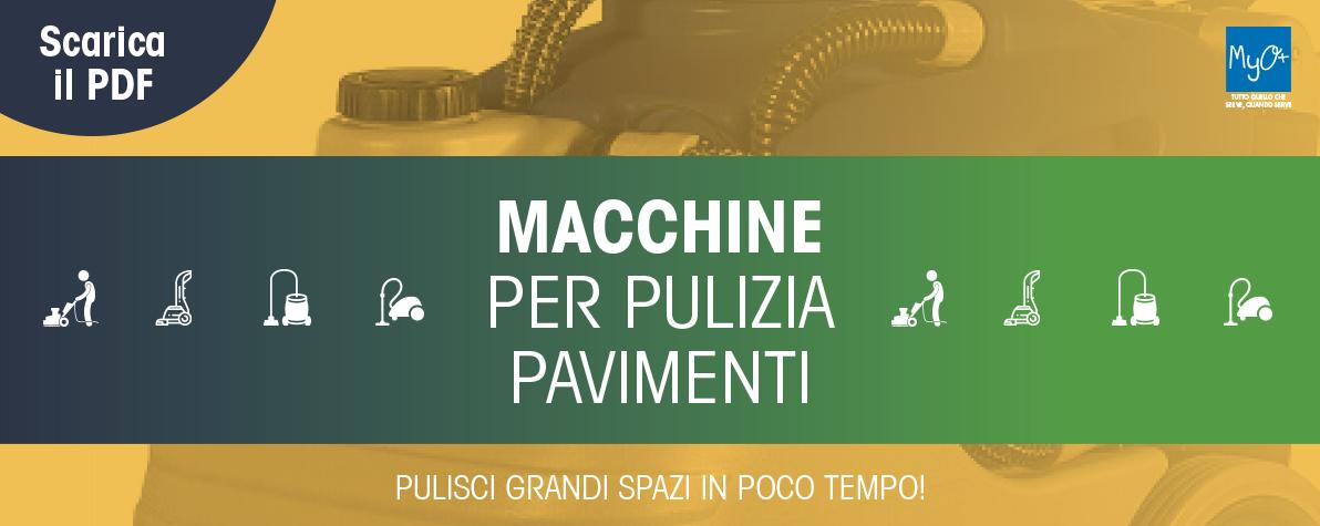 Brochure Macchine Pulitrici MyO