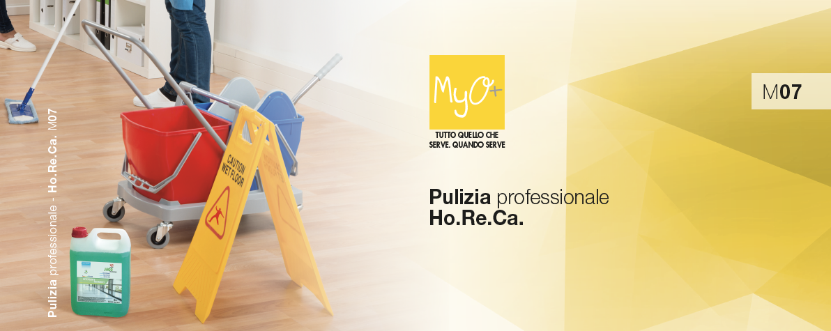 Catalogo MyO Pulizia Professionale Ho.Re.Ca. 2019 M07