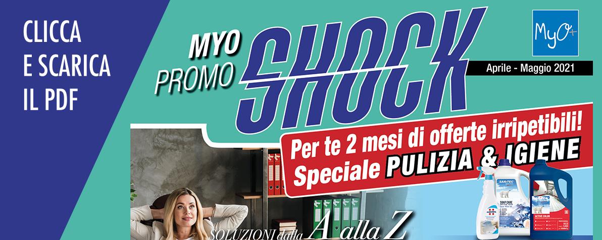 MyO Promo Shock Aprile Maggio 2021